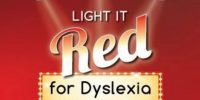 Light It Red for Dyslexia