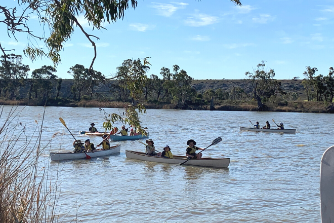SPW camp canoeing